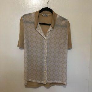 Salvatore Ferragamo women's blouse Size 41 (EU)